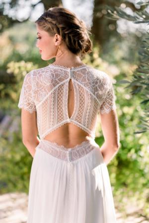 Robe de mariée bohème Emily Marylise