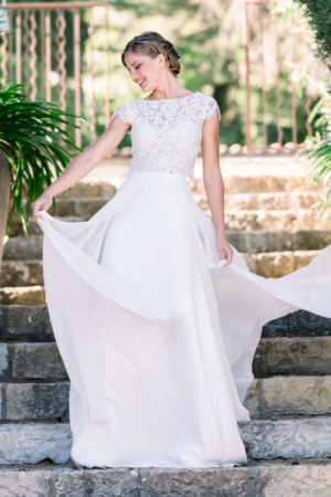 Robe de mariée bohème Ficus Marylise
