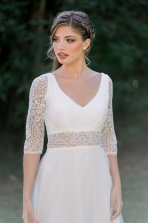 Robe de mariée rétro Graziella Elsa Gary