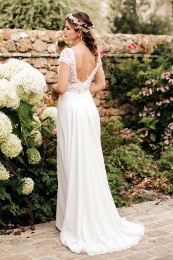 Robe de mariée rétro Jasmin Elsa gary