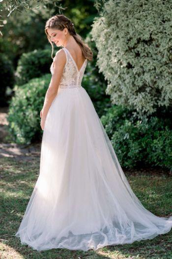 Robe de mariée bohème Léana Elizabeth