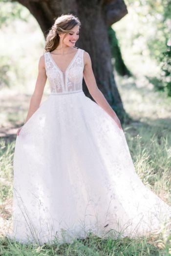 Robe de mariée bohème Luna Elizabeth