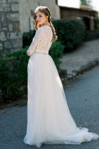 Robe de mariée bohème Lyvia Elizabeth