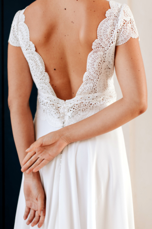 Robe de mariée rétro Malaga Elsa Gary