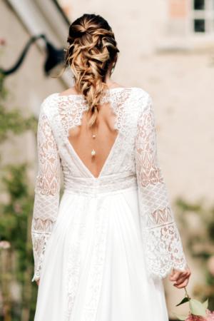 Robe de mariée rétro Ombretta Elsa Gary