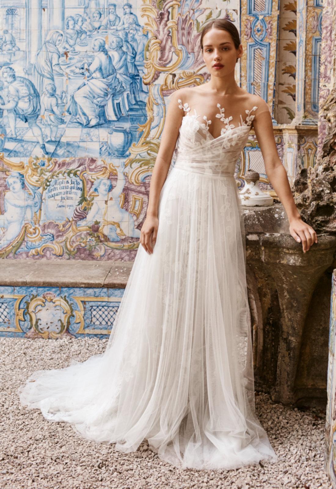 Robe de mariée bohème Anna Kara