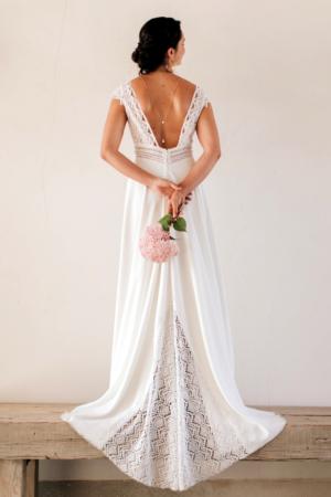 Robe de mariée rétro Séville Elsa Gary