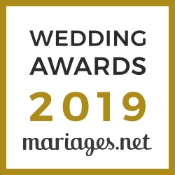 Caralys, gagnant Wedding Awards 2019 Mariages.net