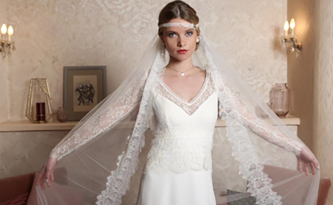 Le voile de la mariée: tradition ou effet de mode?