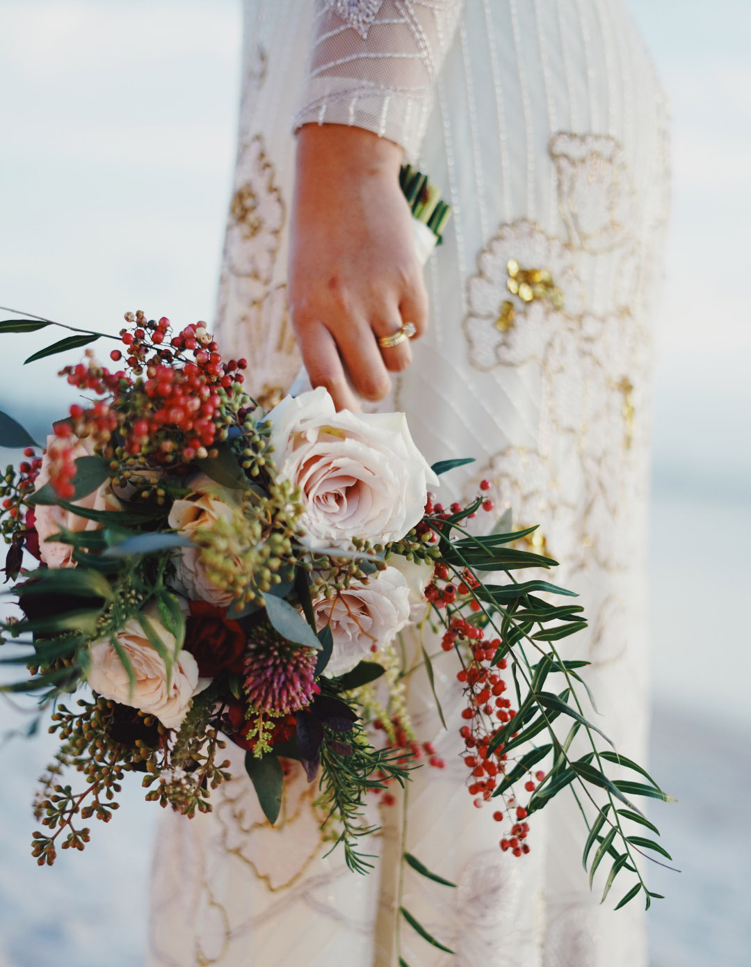 bouquet de mariee mariage boheme champetre retro Nice 06 paca