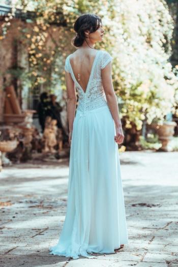 Robe de mariée rétro Amour Toujours Elsa Gary