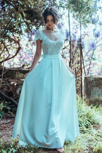 Robe de mariée rétro Bonheur Elsa Gary