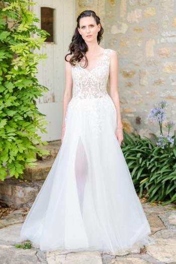 Robe de mariée bohème Ambre Caralys