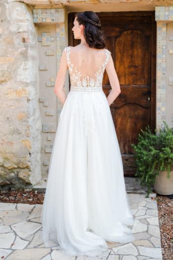 Robe de mariée bohème Anais Caralys