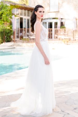 Robe de mariée bohème Paloma Caralys