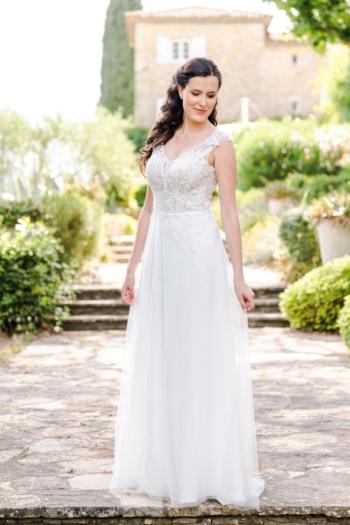 Robe de mariée bohème Vanina Caralys