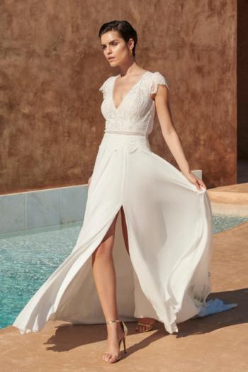Robe de mariée bohème Coralin Marylise