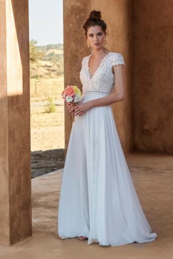 Robe de mariée bohème Hélice Marylise