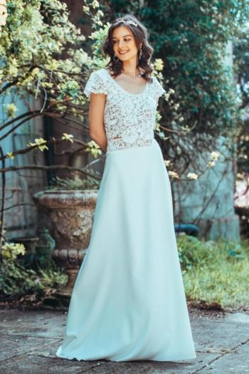 Robe de mariée rétro Futur Elsa Gary