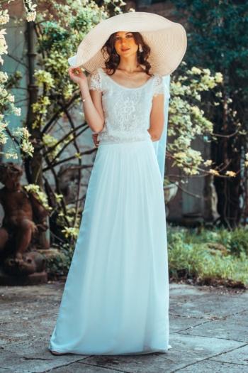 Robe de mariée rétro Un air de Liberté Elsa Gary