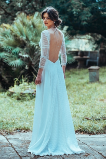 Robe de mariée rétro Tentation Elsa Gary