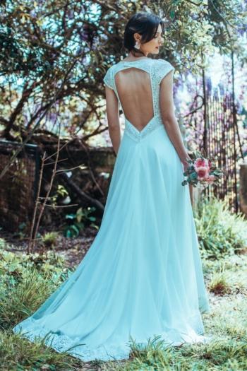 Robe de mariée rétro Il Etait une fois Elsa Gary