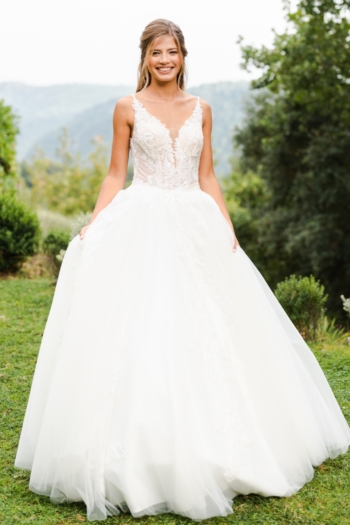 Robe de mariée bohème Célia Caralys