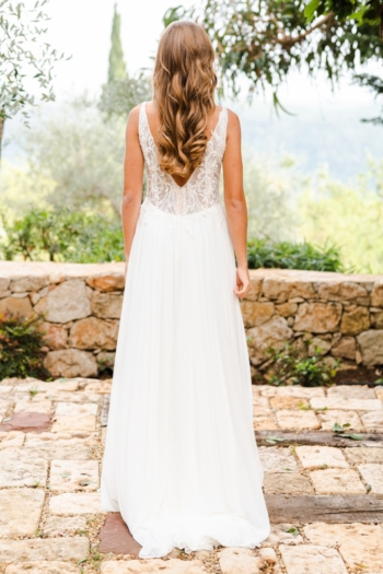 Robe de mariée bohème Dayanna Caralys