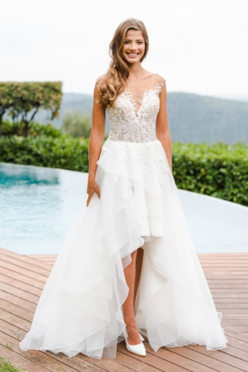 Robe de mariée bohème Iléane Caralys