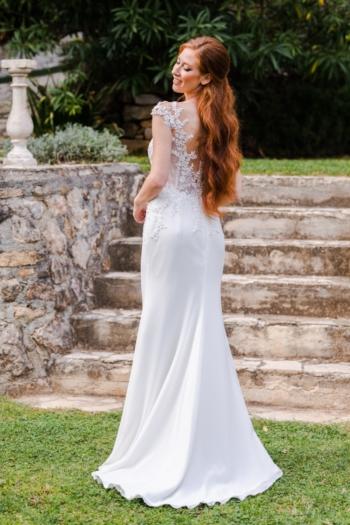 Robe de mariée bohème Jade Caralys