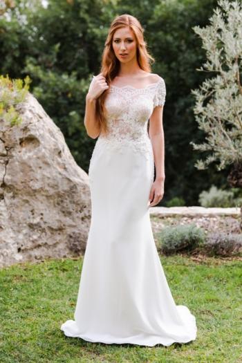 Robe de mariée bohème Noémia Caralys
